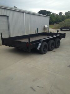 Tri axle trailer Lakes Entrance East Gippsland Preview