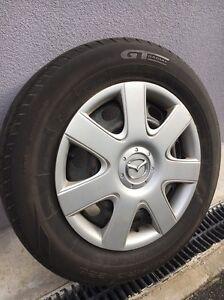 Mazda 3 rims and tyres x 4 Wynyard Waratah Area Preview