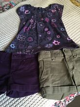 Gap shorts t pack girls size 110cm 4/5 Balmoral Brisbane South East Preview