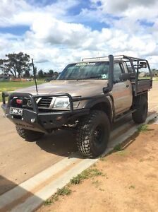 2000 dx Nissan patrol 4.2ti coil cab ute Echuca Campaspe Area Preview