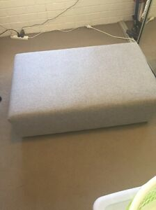 Grey Ottoman for sale Northgate Brisbane North East Preview