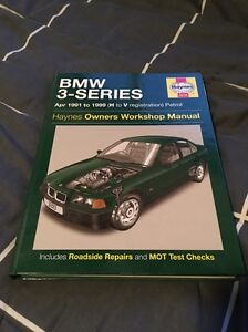 Bmw 3 series Haynes Owners Workshop Manual (New) Erskine Park Penrith Area Preview