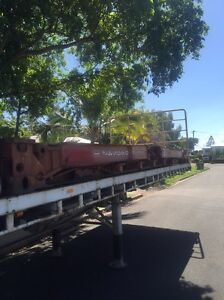 Flat rack 20ft shipping container Mount Low Townsville Surrounds Preview
