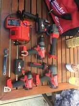 Milwaukee Fuel 18v brushless set (rattler gun, etc) South Perth South Perth Area Preview