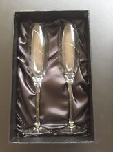 BRAND NEW champagne glass pair Carlton North Melbourne City Preview