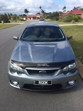 BA XR8 Manual Ute with the FG Boss 290 Engine in Mercury Silver Noranda Bayswater Area Preview