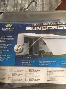 Caravan awning sunscreen - Kardinya Melville Area Preview
