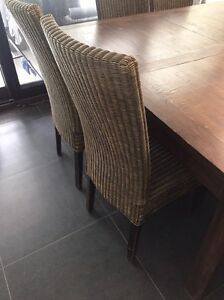 Dinning table plus 8 chairs Cornubia Logan Area Preview
