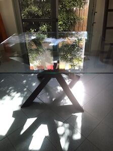Glass dining table Mentone Kingston Area Preview