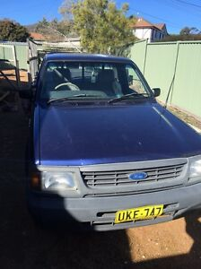Ford courier ute 1996 Chisholm Tuggeranong Preview