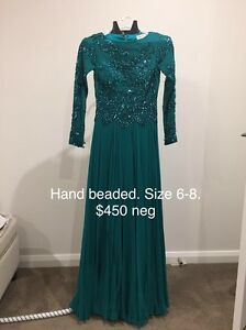Hand beaded even dress Mitcham Whitehorse Area Preview
