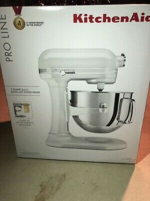 KitchenAid 7-Quart Pro Line Bowl-Lift Stand Mixer | Frosted Pearl