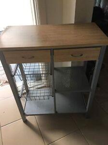 Wooden Desk with Storage - Good condition! Newington! Newington Auburn Area Preview