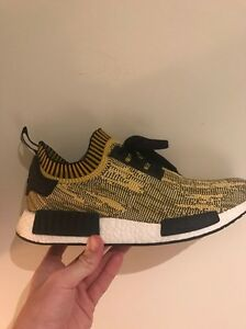 adidas nmd yellow glitch camo Prahran Stonnington Area Preview