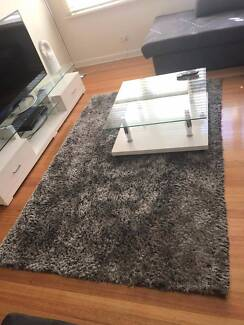 Grey and White comfy Rug