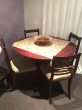 Antique Round Dinner Table Windaroo Logan Area Preview