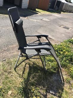 Outdoor tanning chair