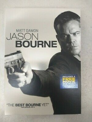 Jason Bourne (DVD) w/ Slipcover **Ships First Class**