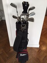 Left Handed Golf Clubs & Bag Hawthorn Boroondara Area Preview