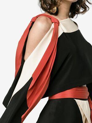 BNWT KITX diversity kimono top black cream red kit willow tie detail square 6