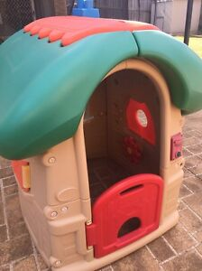 Kids outdoor cubby house (playsafe mushroom playhouse) Castle Hill The Hills District Preview