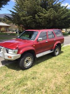 1993 Toyota Hilux Surf SSR-G Woodend Macedon Ranges Preview