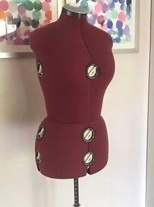 Adjustable dressmaking mannequin Mentone Kingston Area Preview