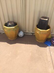 Garden ceramic pots urgent sale Redcliffe Belmont Area Preview