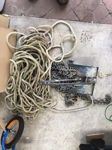 Anchor rope chain and 10lb anchor Rosebud Mornington Peninsula Preview