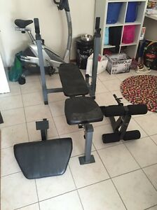 Weight Bench/home gym Banks Tuggeranong Preview