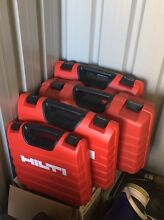 5 Hilti boxes assorted Noranda Bayswater Area Preview