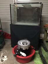 Fish tank 3 x 2 x 2 (custom made) with stand and pump Oakhampton Heights Maitland Area Preview