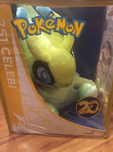 Pokemon 20th anniversary celebi mythical collection plush toy Adelaide CBD Adelaide City Preview