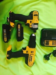Brand new DEWALT Hammer Drill and Cordless Impact Driver 18 v Clearview Port Adelaide Area Preview