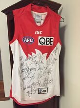 2015 fully signed Sydney Swans AFL jersey. East Maitland Maitland Area Preview