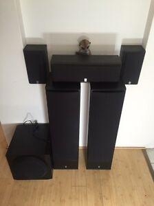 5.1 surround speakers *no amp* Balga Stirling Area Preview