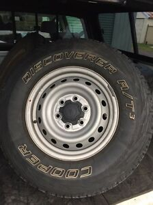 Tyres off a ford ranger 6x 139 Singleton Singleton Area Preview