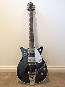 2001 Gretsch 6128T-62 Duo Jet 1962 Reissue in Jetglo finish Ringwood East Maroondah Area Preview
