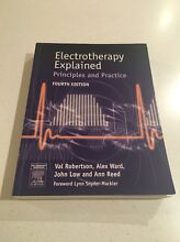 Physiotherapy textbook: Electrotherapy Explained Fourth Ed Wallsend Newcastle Area Preview