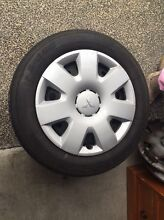Full set of Mitsubishi factory wheels. Springfield Ipswich City Preview