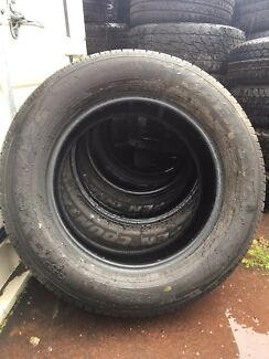 Brand new Toyo Open Country tyres 255/60r18 x5