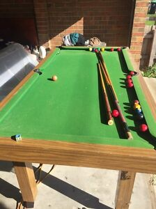 Billiards table, Dressing Table,Gym Weight Springvale Greater Dandenong Preview