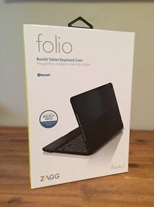Zagg Folio Bluetooth Keyboard for iPad Air 2 Normanhurst Hornsby Area Preview