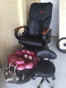 Pedicure massage foot spa chair Hocking Wanneroo Area Preview