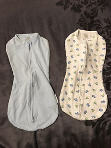 Summer Baby Swaddle Woombie Baby Wrap Newborn 0-3 months x 2 for $10 Chermside Brisbane North East Preview