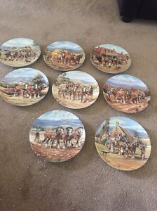 The Bradford Exchange Plates - Our Mighty Clydesdales collection Bracken Ridge Brisbane North East Preview