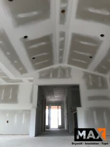 Drywall and tape renovation