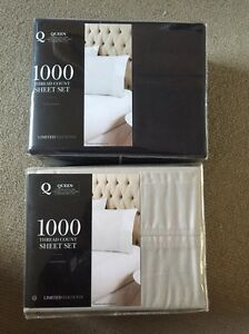 BRANA NEW queen size 1000 thread count sheet set Chatswood West Willoughby Area Preview