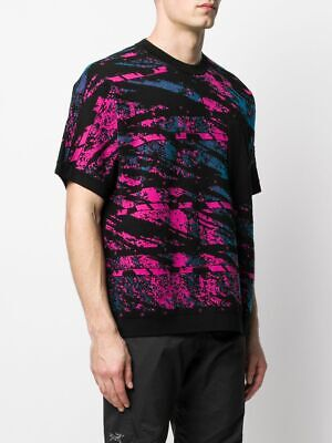 Stone Island Shadow Project SS20 Graphic Short Sleeve Knit