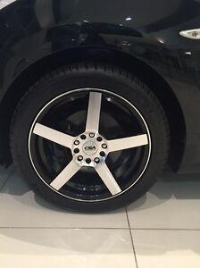 4 X 17inch CSA wheels Pilot Sport 3 Michelin Tyres Merrimac Gold Coast City Preview